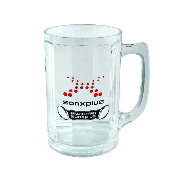 Oktoberfest Faceted Acrylic Beer Stein 14oz