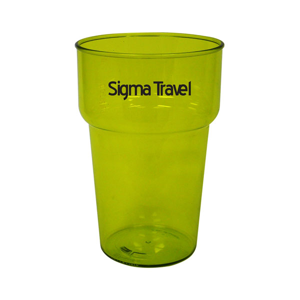 20 oz Stackable Drinking Glass