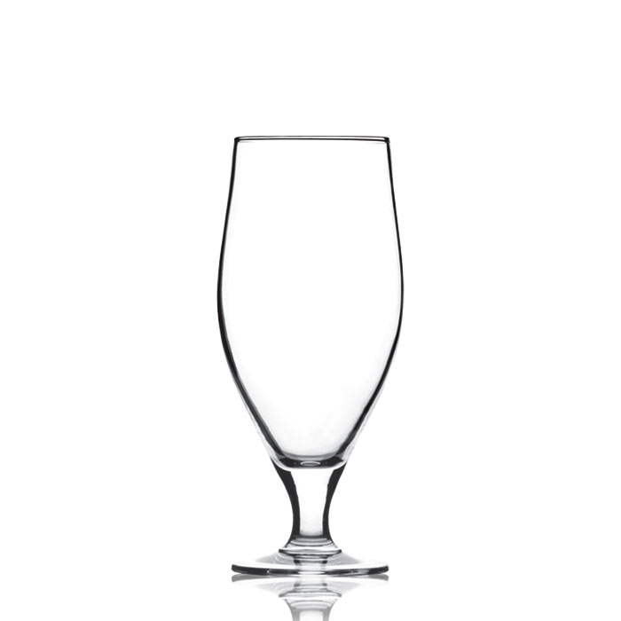 Cervoise Footed Beer Glass