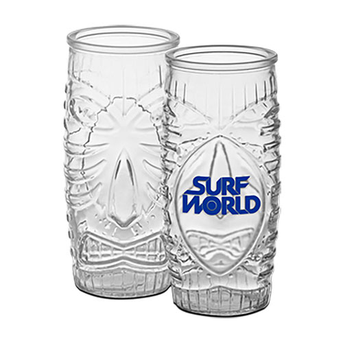 20 oz Tiki Beer Glass