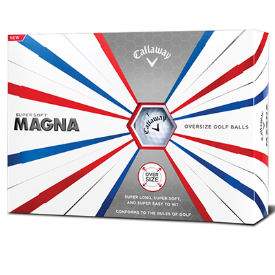 Callaway SuperSoft Magma Golfballs