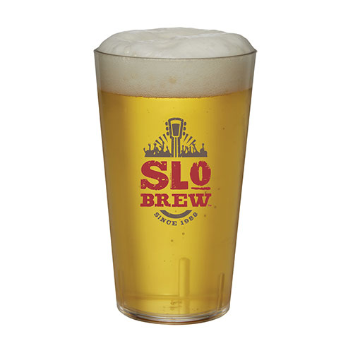 24 oz Tritan Plastic Beer Glass